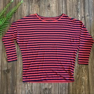 Lily Pulitzer Women's Striped Long Sleeve Shirt XL